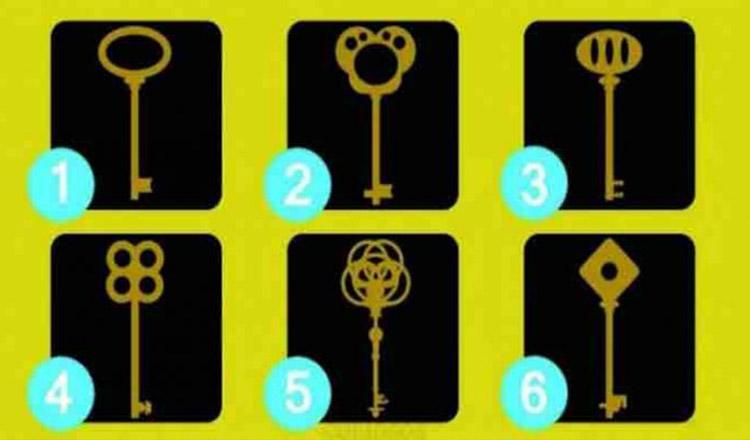 Foto: Testul cheii nu minte! Alege o cheie și descoperă personalitatea ta ascunsă!