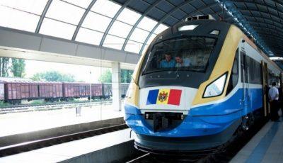 Trenul Chișinău – Odesa va circula zilnic, începând cu data de 1 iunie