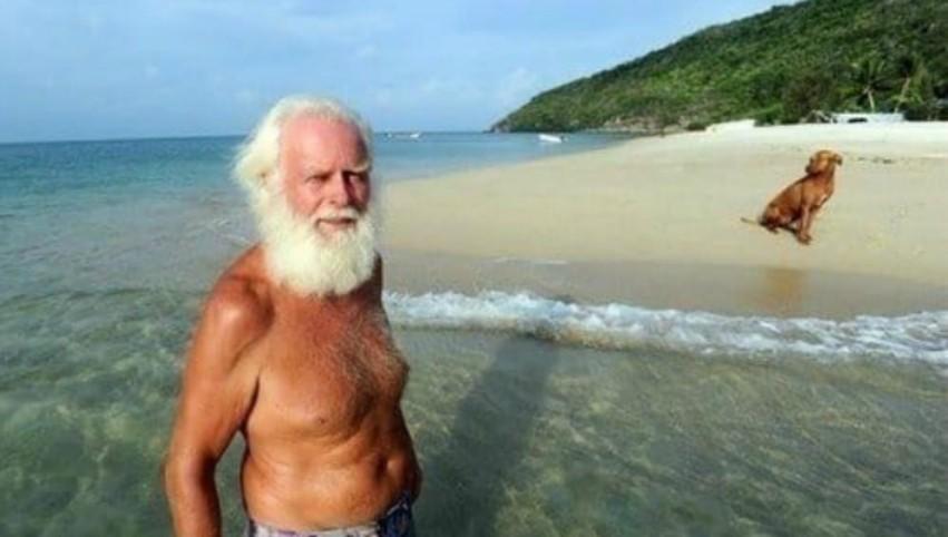 Foto: Povestea bărbatului care s-a mutat pe o insulă pustie și a transformat-o într-un adevărat rai
