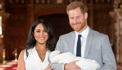 Primele imagini cu bebelușul regal. Vezi cu cine seamănă