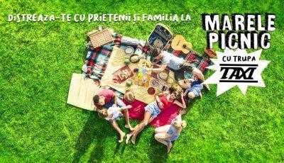 Muzică, concursuri, excursie și alte surprize! În acest weekend, distrează-te împreună cu toată familia la Marele Picnic cu trupa TAXI de la Mileștii Mici