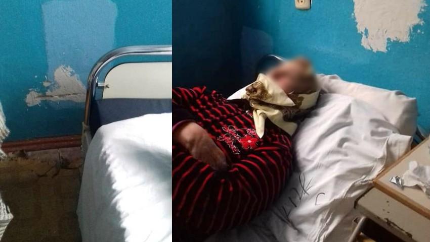 Foto: Imagini dezolante într-un spital din țară, surprinse de către un internaut. Foto