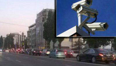 Pe mai multe străzi din capitală au fost montate camere de supraveghere a traficului rutier. Iată care sunt acestea!