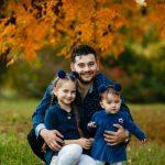 """Foto: ,,Fetele lui tata"""". Valentin Uzun și-a arătat mezina! Ce dulce e surioara Ameliei"""