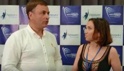 Video! Interviu cu faimosul coach și om de afaceri din Kiev, Nicolai Latanskii