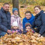 Foto: Drama unei familii din Chișinău. Un tată a rămas singur cu 4 copii