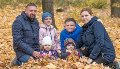 Drama unei familii din Chișinău. Un tată a rămas singur cu 4 copii