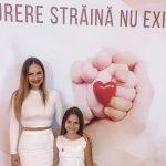 Foto: Ana Cernicova și fiica sa, Amelia Uzun, invitate speciale la un concert de caritate organizat la Paris