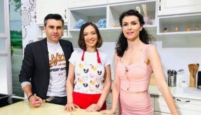 """""""O nouă zi"""" cu Galina Tomaș! Vezi ce a gătit nutriționista în cadrul emisiunii"""