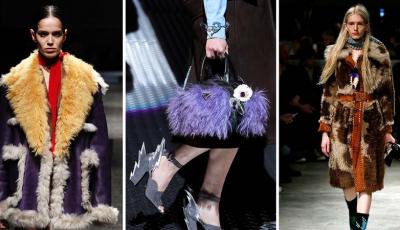 Celebra casă de modă de lux, Prada, renunţă la blănuri