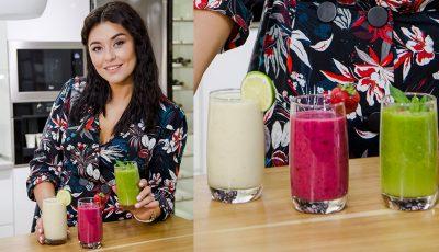 3 reţete de smoothie-uri care o energizează vara aceasta pe Lili Lozan!