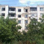 Foto: Un alt bloc cu câteva etaje, din Lipcani, este gata să se prăbușească în orice moment