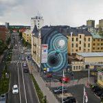 Foto: În orașul Örebro, din Suedia, a apărut o pictură murală deosebită realizată de o tânără moldoveancă!