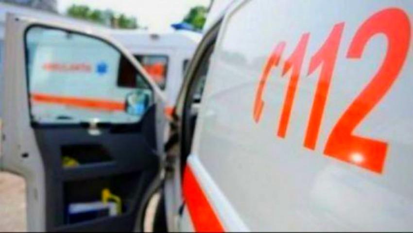 Foto: Un șofer din Ungheni a murit subit la volan. Acesta a ieșit pe contrasens și a tamponat frontal un alt vehicul