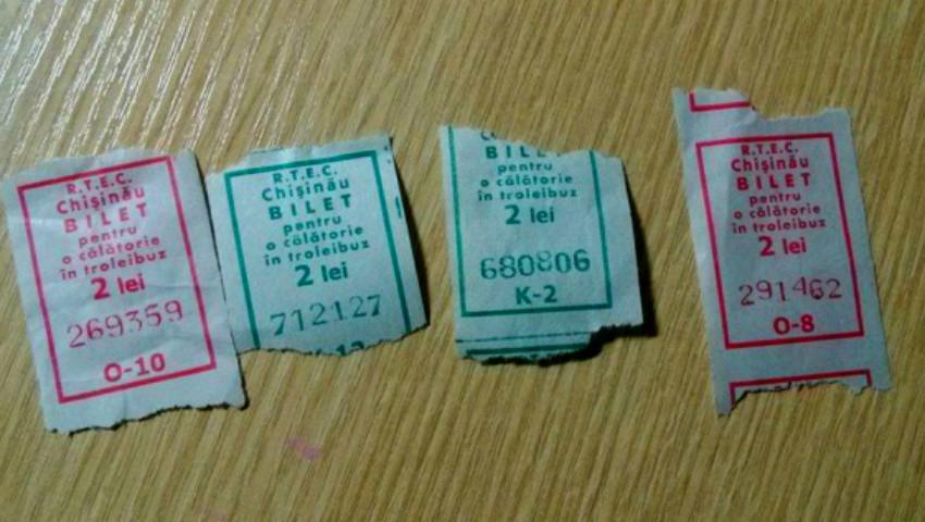 Foto: De luni, vor fi introduse bilete noi pentru călătoria cu troleibuzul. Cum vor arăta?