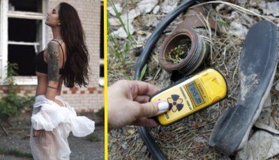 Influencerii de pe Instagram pozează sexy în zona de radiații de la Cernobîl