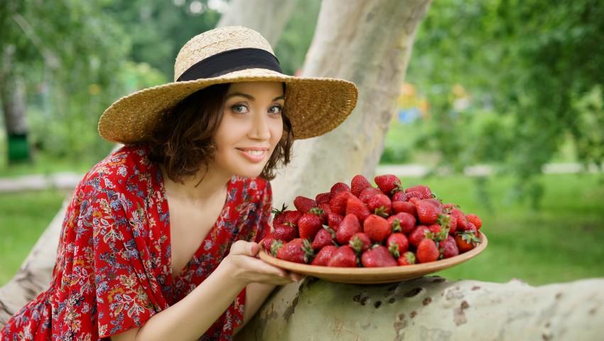 Foto: Galina Tomaș, despre miracolul verii cu aromă de căpșuni