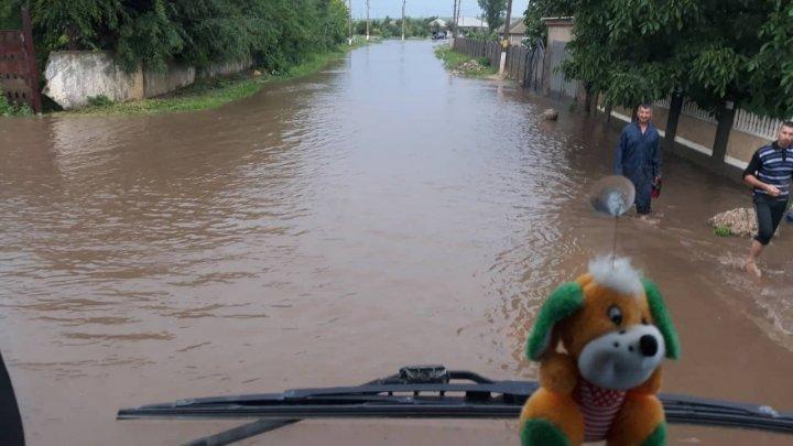 Foto: Dezastru în ţară, după ploile din ultima perioadă