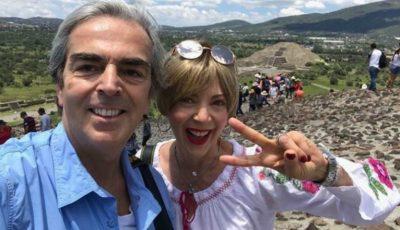 Edith Gonzalez este a doua soţie pe care Lorenzo Lazo a pierdut-o din cauza cancerului