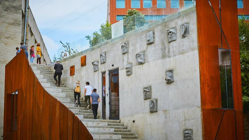 Foto: În Moldova a fost inaugurat Centrul Artcor, locul unde își vor da întâlnire toți oamenii talentați din țara noastră