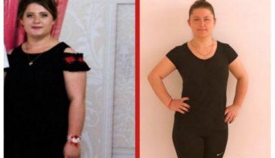 Iuliana a slăbit 13 kilograme și le sugerează și altor femei să îi urmeze exemplul