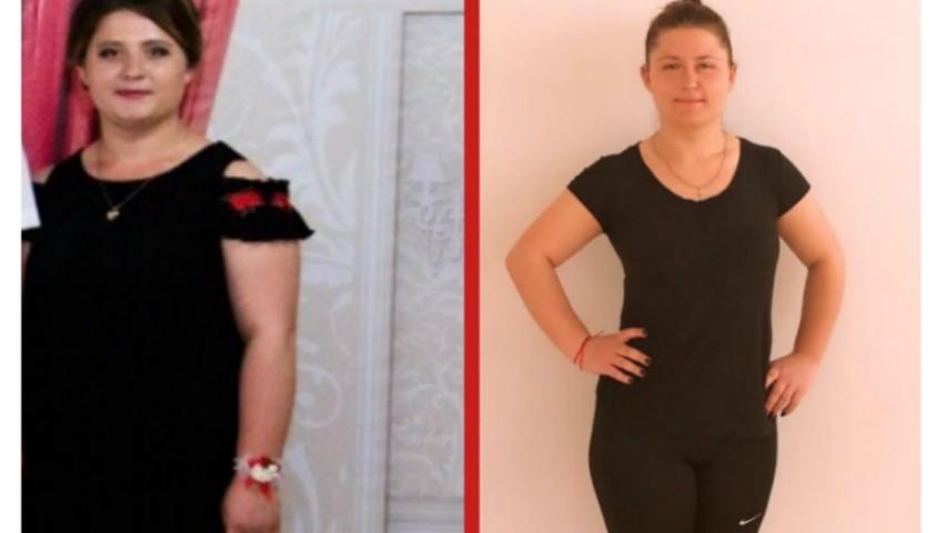 Foto: Iuliana a slăbit 13 kilograme și le sugerează și altor femei să îi urmeze exemplul