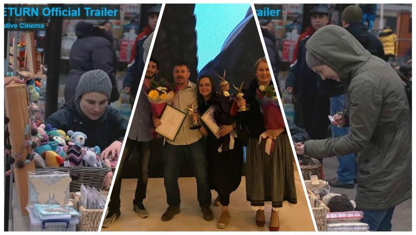 """Foto: Regizorul Dumitru Grosei a fost premiat în Rusia, pentru filmul documentar ,,Reîntoarcerea"""""""