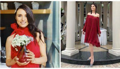 Valentina Naforniță și-a sărbătorit ziua de naștere acasă, în Moldova!
