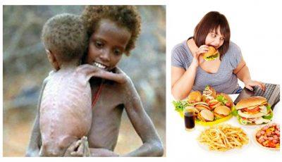 ONU, aviz îngrijorător: numărul persoanelor care suferă de obezitate a depășit numărul celor care suferă de foame, la nivel global