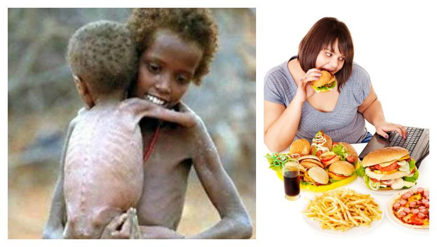 Foto: ONU, aviz îngrijorător: numărul persoanelor care suferă de obezitate a depășit numărul celor care suferă de foame, la nivel global