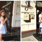 Foto: Smaranda, fiica Corinei Țepeș, a făcut un frumos act de caritate