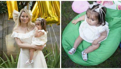 Fetița Laurei Cosoi a împlinit 1 an. Uite cum a fost organizată petrecerea!