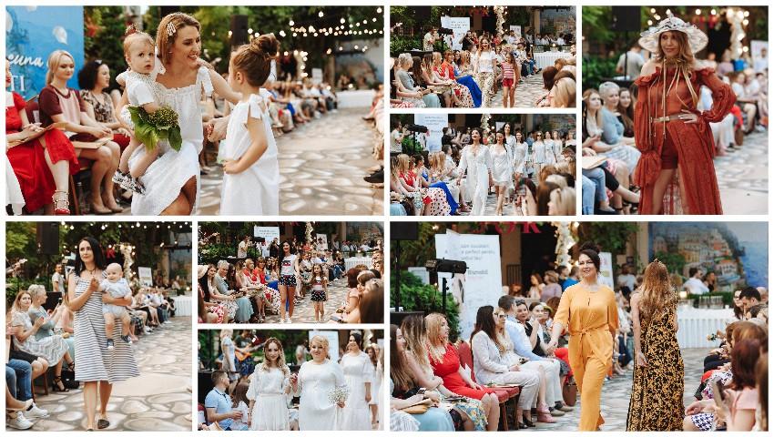 Foto: Persoanele publice au defilat în creațiile brandurilor autohtone, la Fashion Soirée Resort Collections 2019, ediţia a IV-a!
