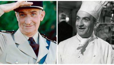Cum arăta actorul Louis de Funes în tinerețe?