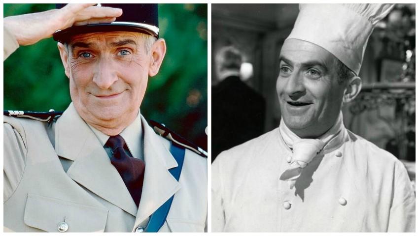 Foto: Cum arăta actorul Louis de Funes în tinerețe?