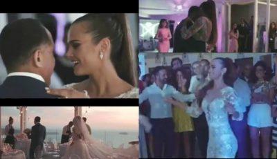 Ca-n filme! La 3 ani de căsnicie, Xenia Deli a publicat imagini inedite de la nuntă