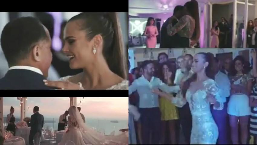 Foto: Ca-n filme! La 3 ani de căsnicie, Xenia Deli a publicat imagini inedite de la nuntă