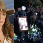 """Foto: Edith Gonzalez a fost înmormântată. Mama actriței: ,,Fetița mea nu mai este"""". Video"""