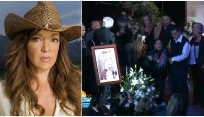 """Edith Gonzalez a fost înmormântată. Mama actriței: ,,Fetița mea nu mai este"""". Video"""