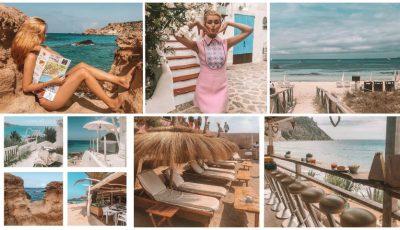 Priveliști de vis și plaje însorite! Cristina Gheiceanu vă invită la o excursie virtuală pe insula Ibiza
