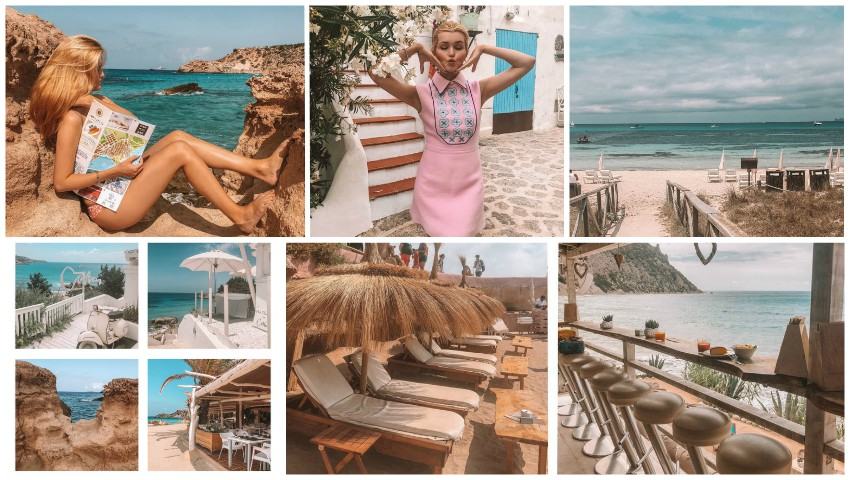 Foto: Priveliști de vis și plaje însorite! Cristina Gheiceanu vă invită la o excursie virtuală pe insula Ibiza