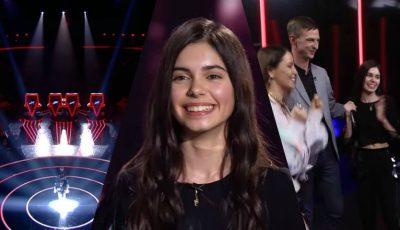 La doar 13 ani, moldoveanca Adelina Iordachi i-a cucerit pe toți cei 4 jurați de la The Voice Kids Ukraine