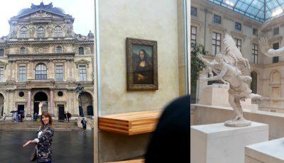 Fotografii impresionante! Aura ne invită la un tur imaginar în Muzeul Luvru
