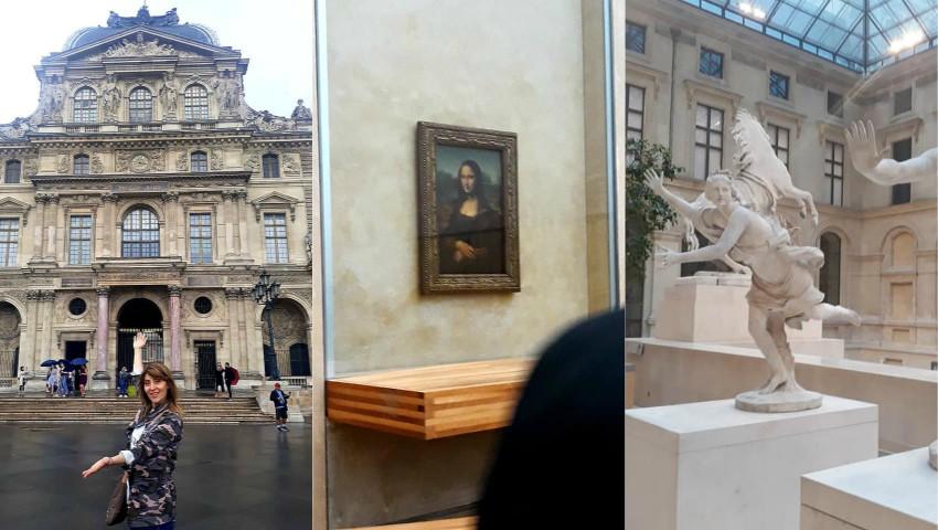 Foto: Fotografii impresionante! Aura ne invită la un tur imaginar în Muzeul Luvru