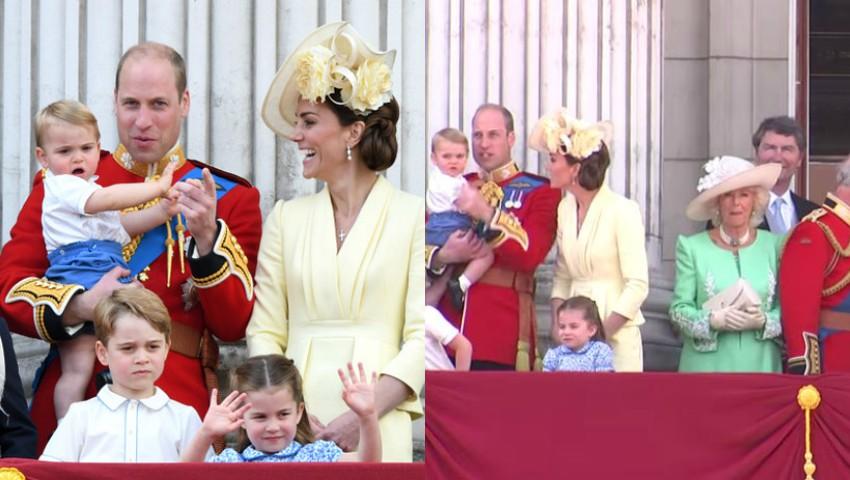 Foto: Video. Imagini adorabile cu Prințul Louis, la parada dedicată Reginei Elisabeta a II-a!