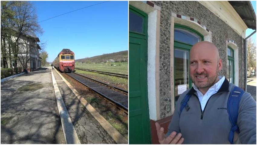 Foto: Fenomenul emigrației din Molova, resimțit de către vloggerul englez. Vezi satul în care nu a întâlnit niciun om