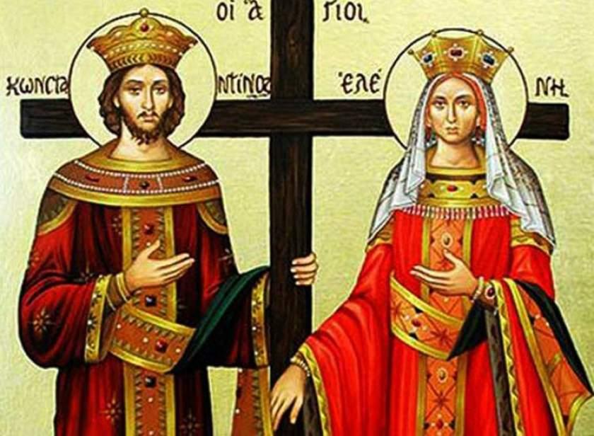Foto: Creştinii ortodocşi de stil vechi îi sărbătoresc astăzi pe Sfinţii Împărați Constantin şi Elena