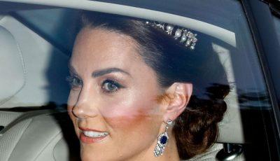 Kate Middleton, ținută spectaculoasă la banchetul dat în cinstea lui Donald Trump