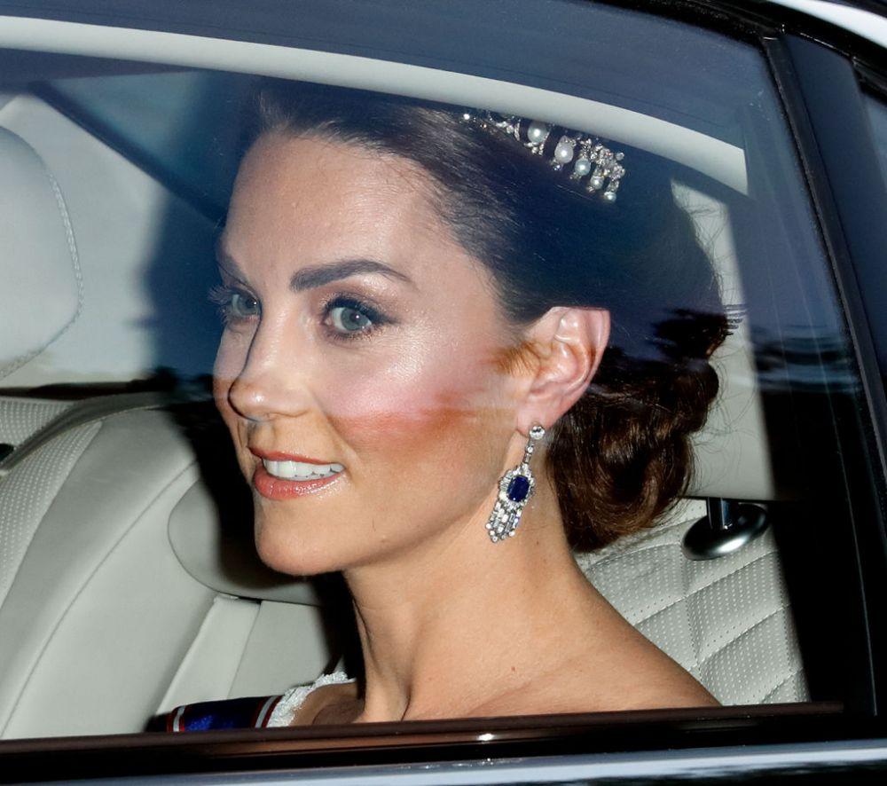 Foto: Kate Middleton, ținută spectaculoasă la banchetul dat în cinstea lui Donald Trump