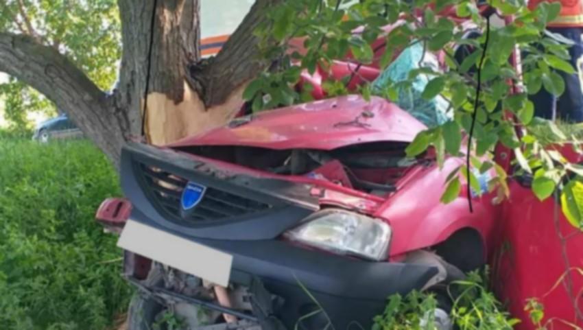 Foto: Accident violent pe traseul Pârlița – Fălești